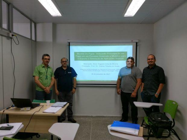 18a Defesa de Dissertação do PPGCC – Abner Augusto Lima de Oliveira